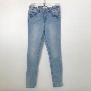 Forever 21 Mid-Rise Skinny Jeans Size 26